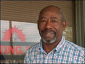 Willie Mitchell, chairman of San Antonio Fighting Back, a community anti-drug group.