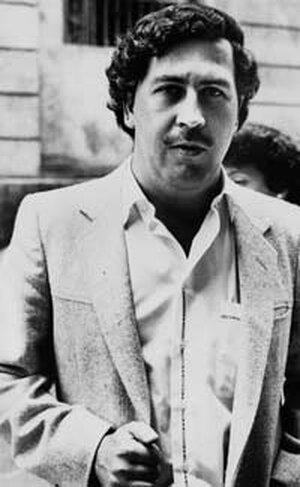 Drug kingpin Pablo Escobar