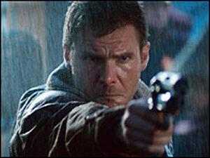 Harrison Ford as Deckard in 'Blade Runner.'