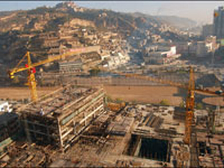 Chinese Construction Boom a Boom in Construction