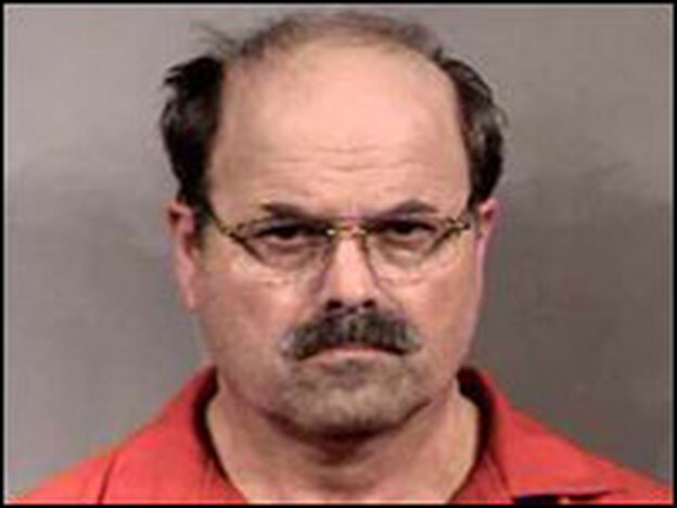 Police in Wichita, Kan., could not ask Dennis Rader, shown here in 2005, for a DNA sample in order to confirm he was a murderer known as BTK. So they used Rader's daughter's DNA — left at a hospital after a doctor appointment — to make a familial match.