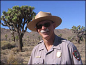 Joshua Tree Park Ranger Joe Zarki says park officials are worried about the fate of the Joshua tree, especially because climate change is not the kind of problem they can fix inside the park.
