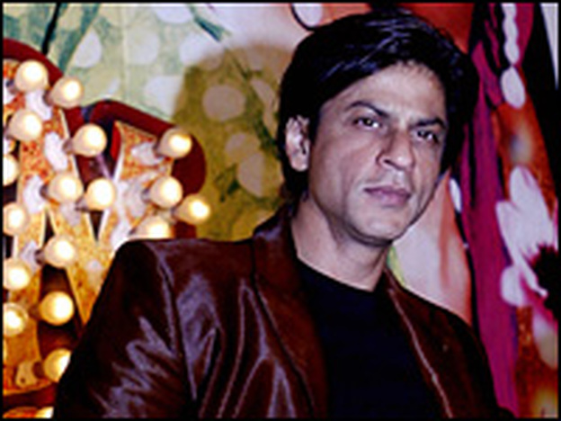 Hindi film star Shahrukh Khan; his blockbuster <em>Om Shanti Om</em> opened opposite Sony's picture and quickly outdistanced it at the box office. The Bollywood battle, fueled by India's media, became a litmus test for some who worry that Hollywood is preparing to muscle in on a healthy home-grown movie industry.