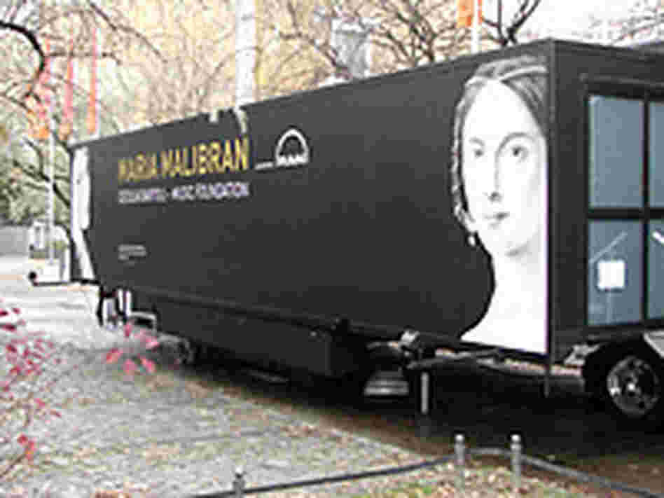 The mobile Maria Malibran Museum