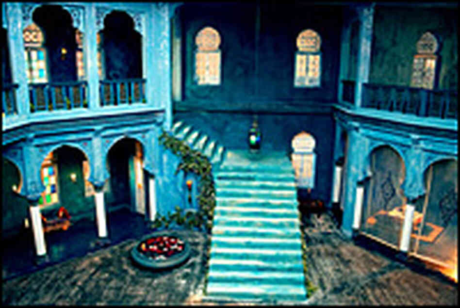 The set of 'Saawariya'