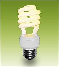 CFL Bulbs Have One Hitch: Toxic Mercury : NPR:CFL Bulbs Have One Hitch: Toxic Mercury,Lighting