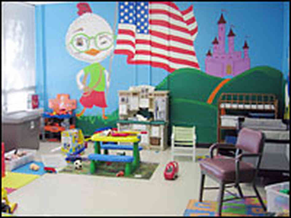 Gold Star Family Support Center playroom