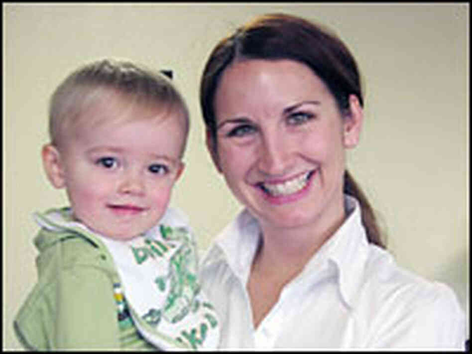 Wendy Weikel (with son Jonathan)