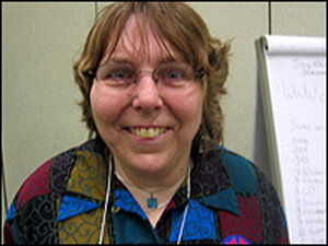Nancy Ward works for a group of disability attorneys in Oklahoma City.