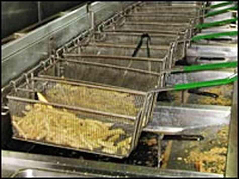 The deep fryers of the dining halls at Iowa State