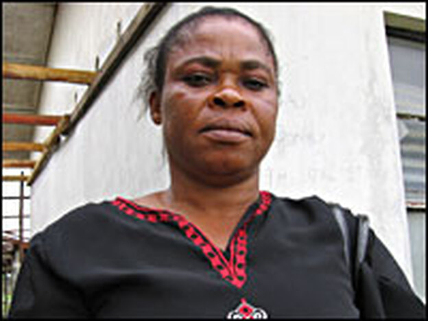 Nurse Anthonia Chioma Ige is the senior nursing officer at Ebocha-Egbema's General Hospital. She is furious about gas flaring.