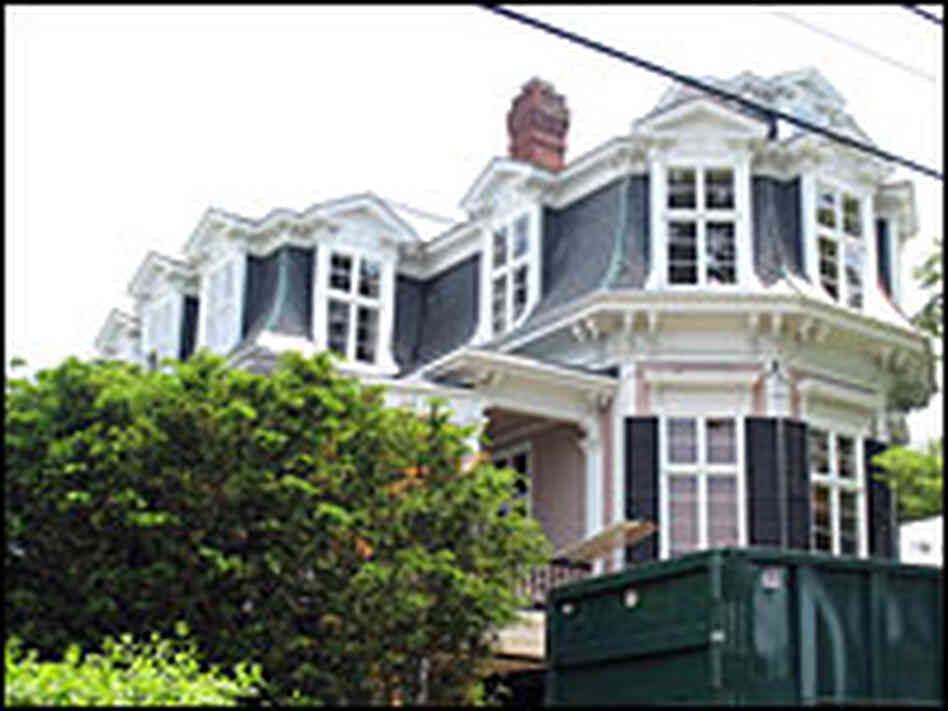 "The house that inspired ""The Mansard Roof"" painting/NPR."