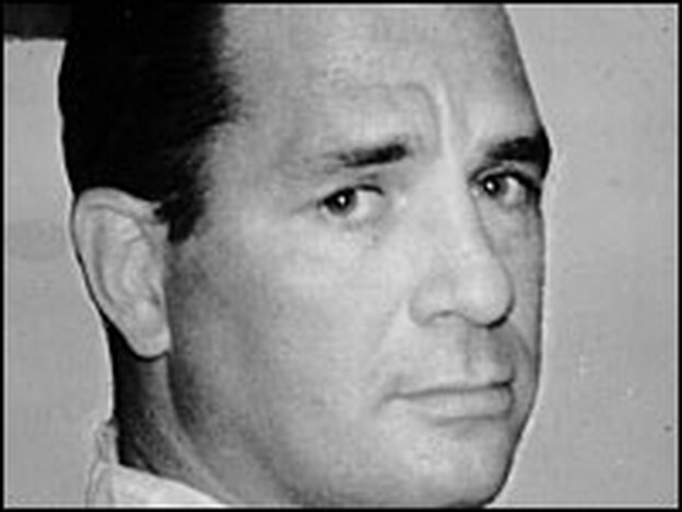 Beat writer Jack Kerouac, pictured in 1965, cultivated the myth that <em>On the Road</em> came to him in a three-week rush, but the truth is he wrote, rewrote and revised again.