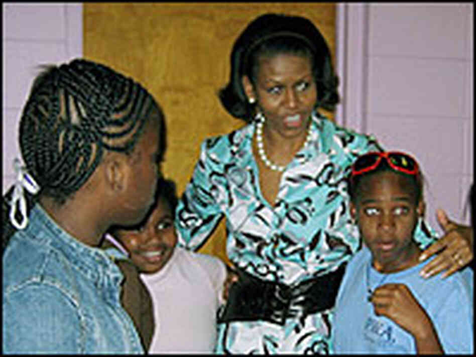 Michelle Obama in South Carolina