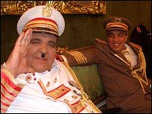 Iraqi actors in exile in Damascus