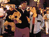 Wesley Snipes and Annabella Sciorra in 'Jungle Fever'