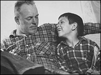 Richard Loving with his son Donald in 1965.