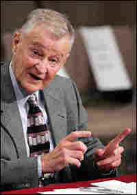 Former National Security Adviser Zbigniew Brzezinski testifies before the Senate Foreign Relations C