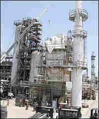 Tesoro refinery in Los Angeles