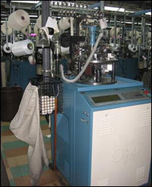A sock machine