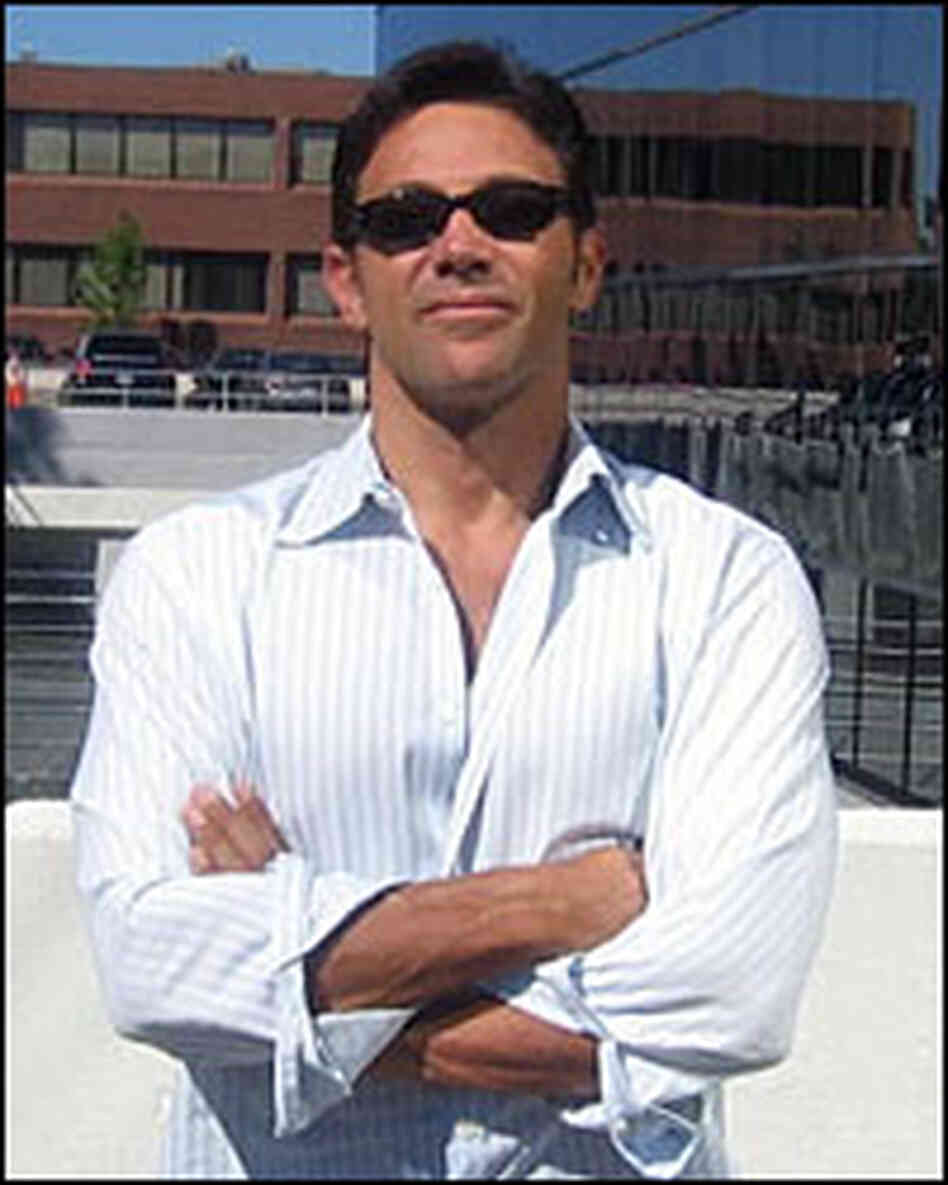 Jordan Belfort is the author of 'The Wolf Of Wall Street'