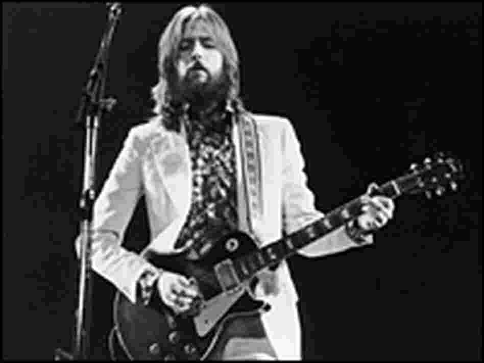 Eric Clapton performs in 1973.