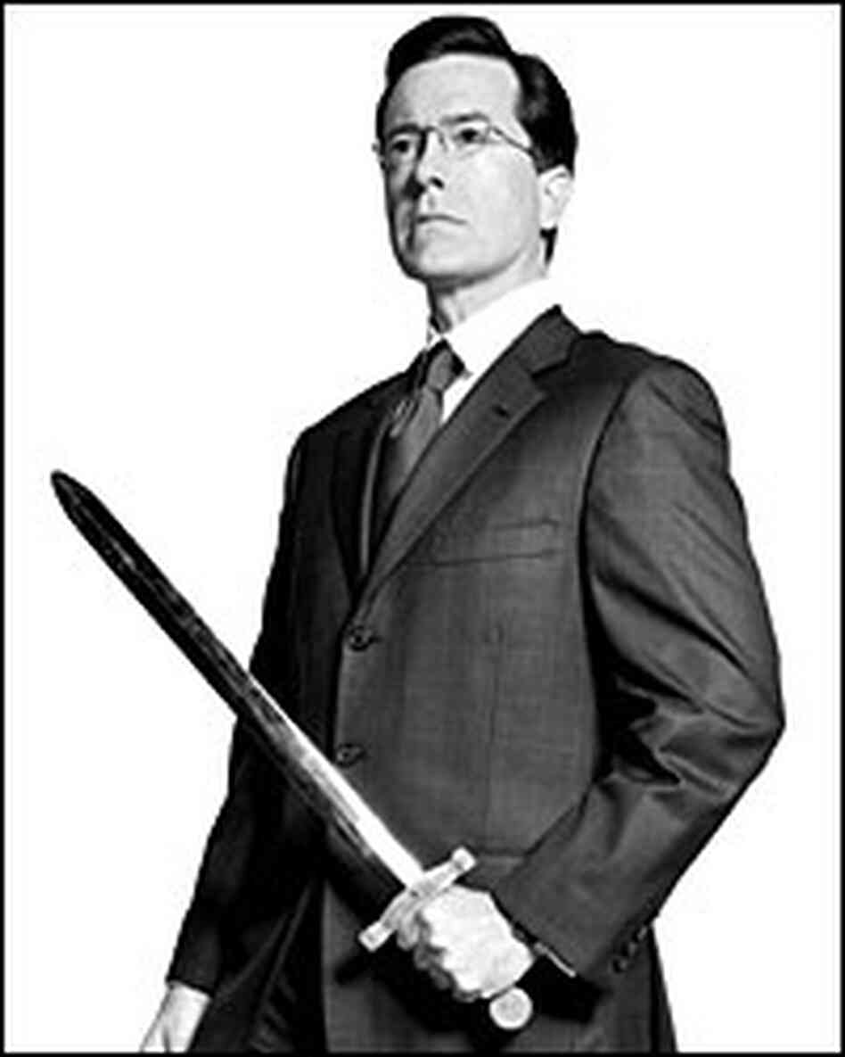 Stephen Colbert, author of 'I Am America'