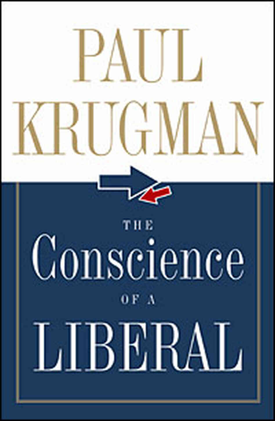 Cover 'The Conscience of a Liberal' by Paul Krugman