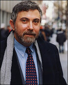 Economist and New York Times columnist Paul Krugman, author of 'The Conscience of a Liberal
