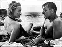 Deborah Kerr and Burt Lancaster in 'From Here to Eternity'