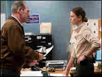 Tommy Lee Jones and Charlize Theron in 'In the Valley of Elah'