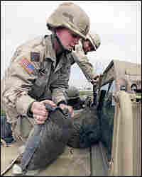 U.S. Army Lt. Katrina Metcalfe in Tikrit, Iraq