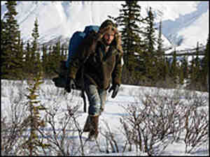 Emile Hirsch portrays Chris McCandless in director Sean Penn's new movie 'Into the Wild. '