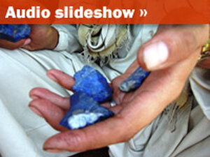 Audio Slideshow: Lapis Mining in Afghanistan