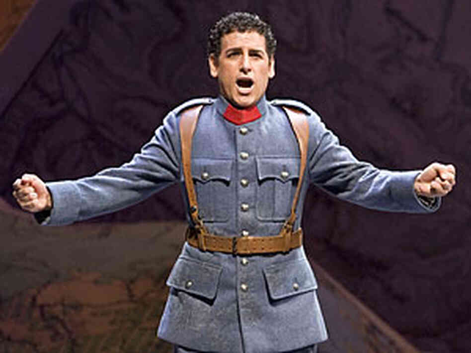 Tenor Juan Diego Florez as Tonio in