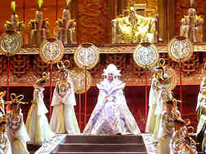 Princess Turandot appears at a staging in Shanghai of the Puccini opera that bears her name.