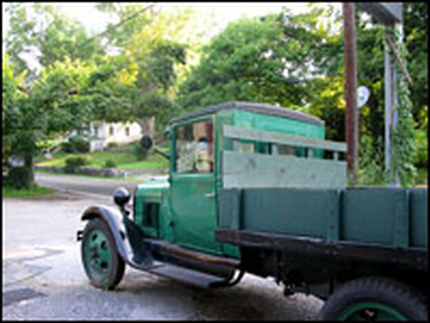 Are pickup trucks becoming a thing of the past, like this vintage Ford? Not according to several people in Harpers Ferry, W.Va.