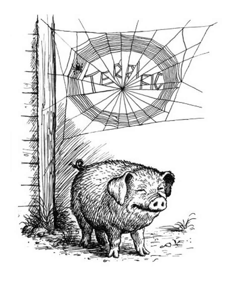 "Wilbur the pig: ""Terrific"""