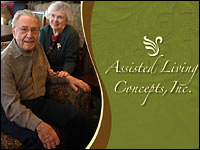 An image from an investor presentation by Assisted Living Concepts Inc.
