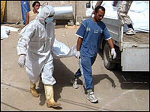 Body Bags in Baquba, Iraq