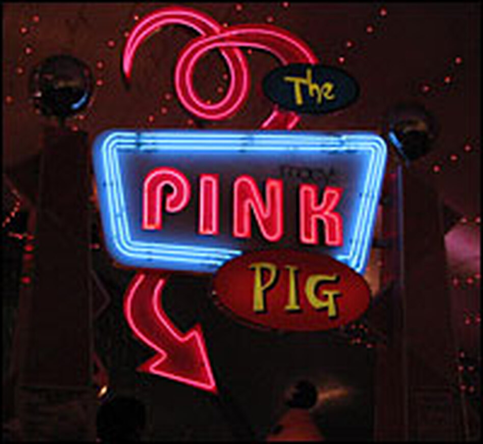 The Pink Pig now operates as a train ride inside a tent at Macy's in Atlanta.