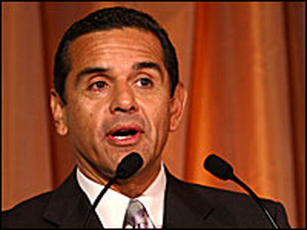 Los Angeles Mayor Antonio Villaraigosa, shown in a December file photo, has said the city will tackle the backlog of at least 12,000 untested kits containing evidence collected from sexual assault victims.