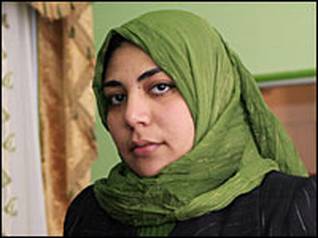 Amal Suleiman is the first <em>maazouna</em>, or female wedding registrar, in the Muslim world.