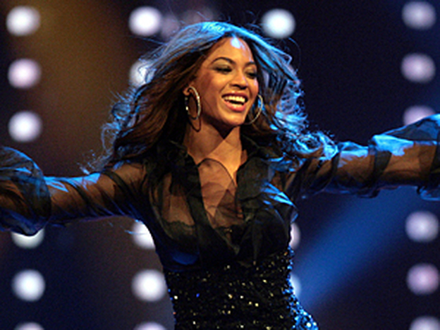 R&B singer Beyonce performs in Duesseldorf, Germany, in 2007. In addition to being nominated for Record of the Year, Beyonce is scheduled to present an award.