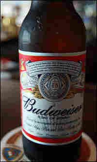 Budweiser bottle of beer