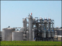 AltraBiofuels opened its $170 million ethanol plant in Cloverdale, Ind., in April.