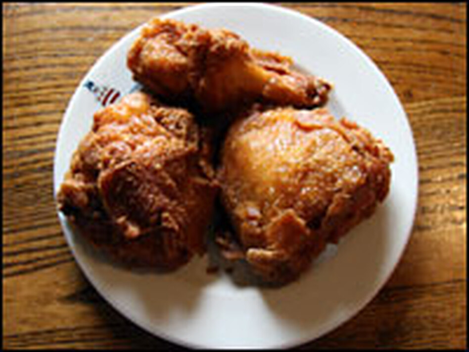Willie Mae Seaton won't reveal the source of her fried chicken recipe — but the younger Seaton says the secret is a wet batter seasoned only with salt and pepper.