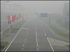 Beijing Pollution Road