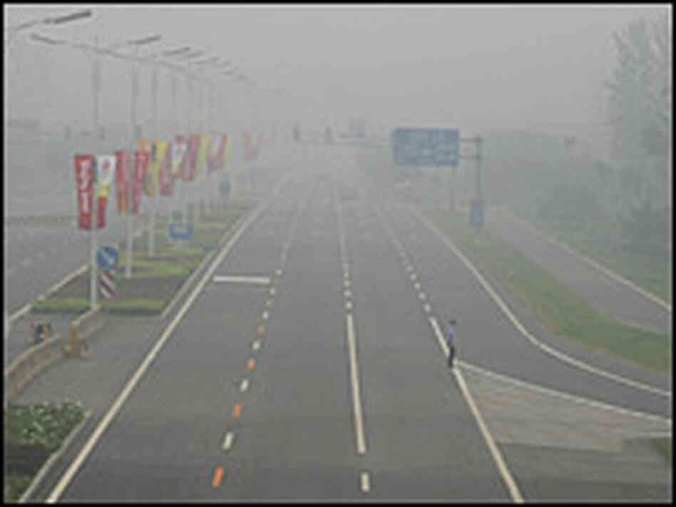 Beijing Pollution Road