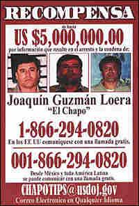 Wanted Poster: Joaquin Guzman